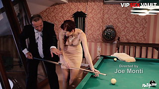VipSexVault - Pool Table Sex Date With Hot Czech Kattie Gold