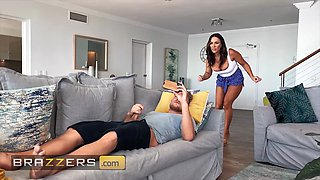 Brazzers Day With A Pornstar Aubrey Black Aubrey Spies On Horny Stepson