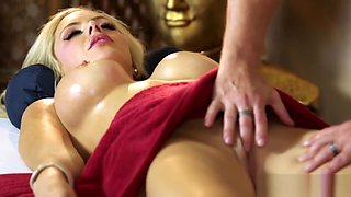 masseuse hooters spunked massage
