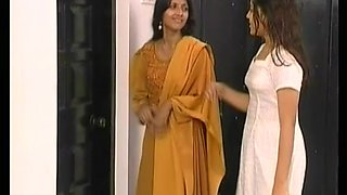 Young big natural breast indian desi teen takes a hot soapy shower