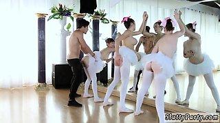 Monster dick tiny teen Ballerinas