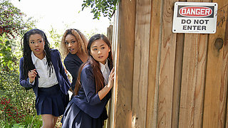 Kira Noir & Chad White in Punishing The Pool Hopper - TeensLoveHugeCocks