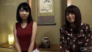 Amateur Japanese babes satisfying their wild sexual urges