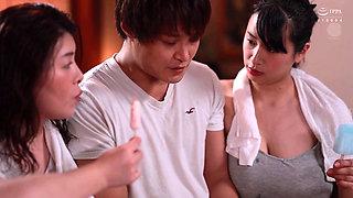 Hana Haruna & Rin Okae (Big Breasted Plump & Gorgeous Sisters Compete For Cum Pt 1) 1080p
