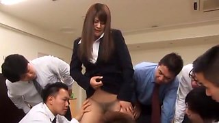 Fabulous Japanese model Megu Fujiura in Crazy Blowjob/Fera, Facial JAV scene