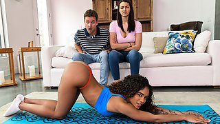 Rough And Raunchy Group Fuck Free Video With Van Wylde & Bella Rolland & Scarlit Scandal - Brazzers