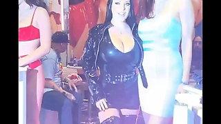 Gorgeous busty slut Angela