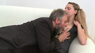 Sassy russian young gal gets banged in several ways