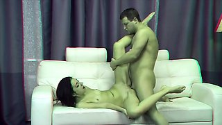 Melissa is an extremely passionate slender brunette who