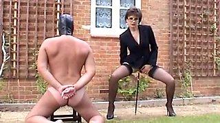 Best Mom Secretary Heels Stockings Slave. See pt2 at goddessheelsonline.co.uk