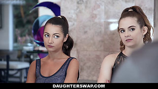 DaughterSwap - Cute Teen Gets Filled With Gymnast Cock