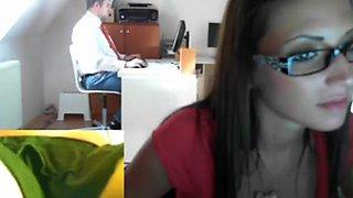 hungarian office girl 5