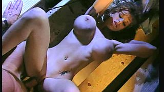 Chesty Olivia bouncing on a throbbing shaft to ruin her quivering cunt