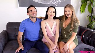 Hairy pussy blowjob threesome Mexican