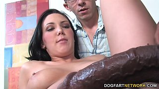 megan foxx fucks bbc - cuckold sessions
