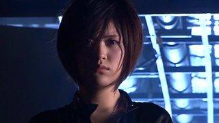 Exotic Japanese whore Azusa Itagaki in Amazing Latex, Rimming JAV video