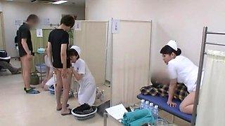 Fabulous Japanese model Yuri Aine, Yu Kawakami, Aya Sakuraba in Horny Nurse JAV video
