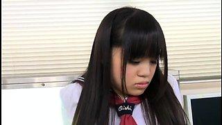 Petite Asian teen brings her interracial fantasy to life