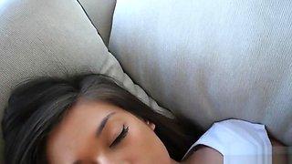Sleeping step sister