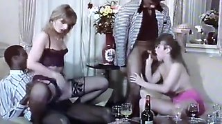 Classic French Orgy from the 90s