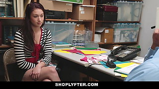 Shoplyfter - Troublemaking Teen Fucks To Not Go To Jail