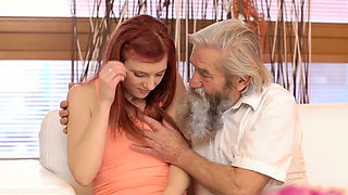 DADDY4K. Awesome old and young experienced of naive girl