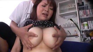 Hottest Japanese whore Nao Nazuki, Haruka Koide, Yuki Sakurai in Amazing Cunnilingus, BBW JAV clip
