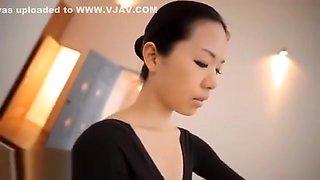 Japanese flexible dancer gets fucked by teacher