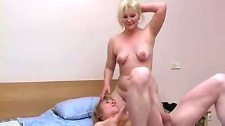 Lena Blond Hair Girl Mature Russian And Her Toy Boy - Elena (i)