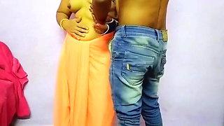 Desi Bengali BeBo has hardcore sex with office friend