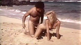 Crazy lesbian retro scene with Crystal Holland and Ginger Lynn