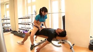 Japanese gym Ride On accomodates guests nicely