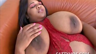 Massive BBW with huge boobs pussy licked by a big cock