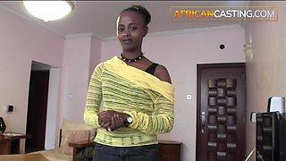 Hardcore african rocker girl blows big cock