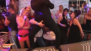Insane Footage Of Horny Slutwives & Girlfriends At CFNM Party