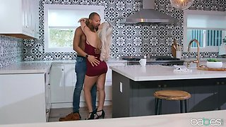 Abella seduced in the Butt by BBC before Wedding