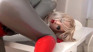 female mask doll