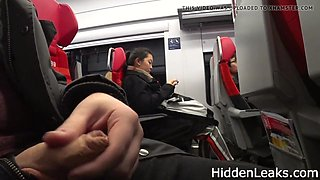 Flash dick in bus for different women