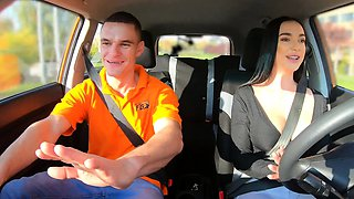 Fake Driving School Instructor Cheats with Lady Gang