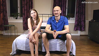 Hlamida Manada gets fucked hard in her virgin pussy