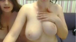 Big breasted amateurs flashing their jugs for me