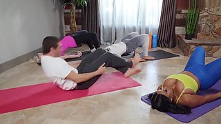 Yoga Teacher Aryana Adin Fucked In The Pussy