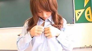 Mesmerizing Akiho Yoshizawa Got Cum All Over Her Milk Jugs