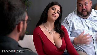 Trickery - Busty Babe Fucks Counselor While Fiance Watches With Gabriela Lopez