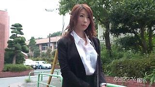 Ayumi Shinoda :: The secret of A Working Beauty 1 - CARIBBEA