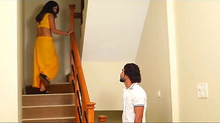 Beautiful Indian woman fucking with young guy
