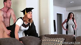 Mom and companion's daughter bdsm ' helps xxx The Graduate