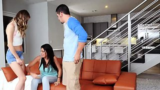 Taboo daddy teen and mom boss's daughter first time