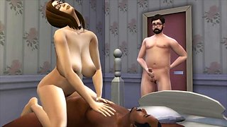 First time cuckold narrated by the sims