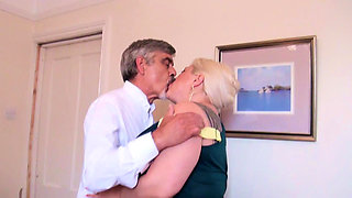 Busty granny fucked and bottled by partygoer